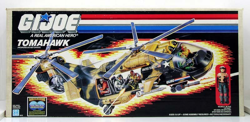 The Man Who Stares At Toys Toy Review Gi Joe Tomahawk Helicopter